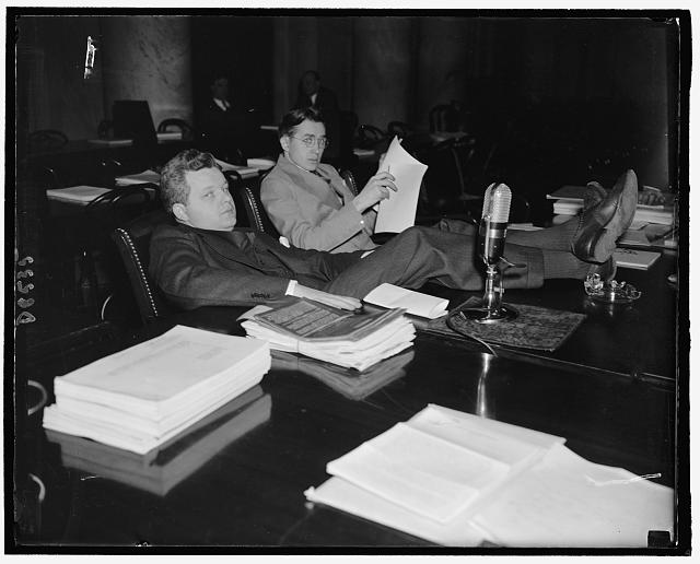 Gerhard Gesell, 1940 [Photograph]. Harris & Ewing. Library of Congress Prints and Photographs Division. //www.loc.gov/pictures/item/2016877204/