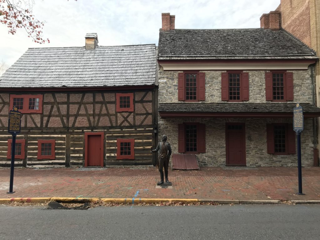 The home of Continental Army Major General Horatio Gates in 1778, located in York, PA. Photo by Robert Brammer