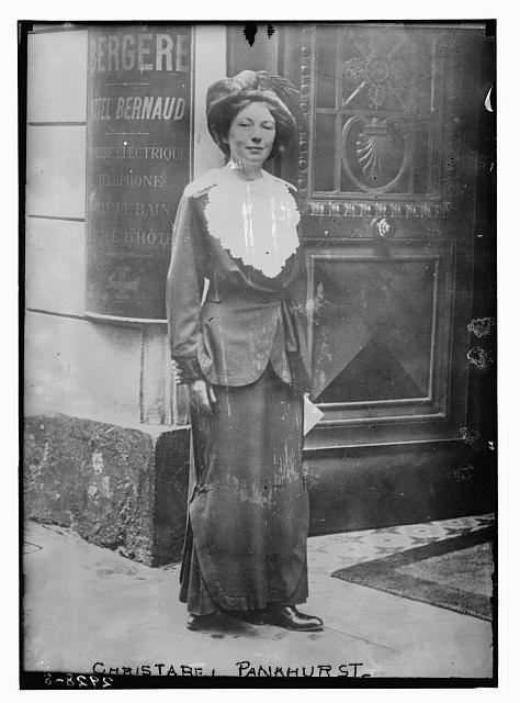 Christabel Pankhurst. Bain News Service. Between 1910 and 1915. Courtesy of the Library of Congress Prints and Photographs Division. //www.loc.gov/pictures/item/2014694951/