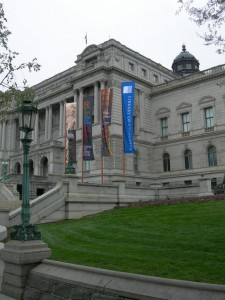 New banners at the Library of Congress