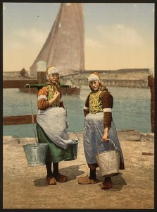 Native Girls, Marken Island, Holland