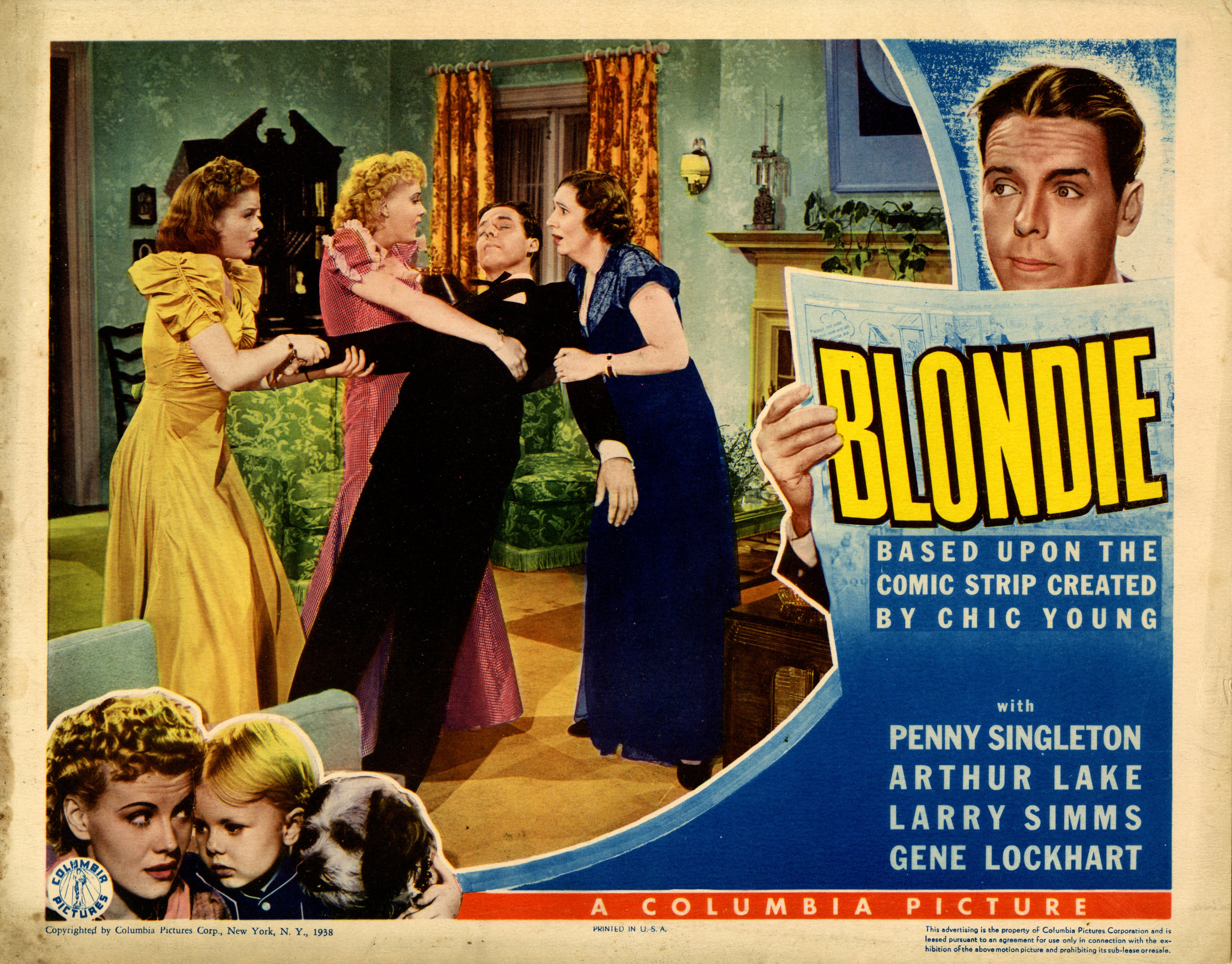 Blondie (1938 film) Lobbying for the Silver Screen Library of Congress Blog