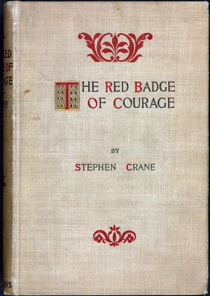 The elements of war and death in the red badge of courage by stephen crane