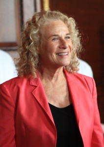 Carole King, winner of the Gershwin Prize