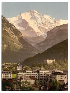 Interlaken, hotels, Bernese Oberland, Switzerland. ca. 1890-1900. Prints and Photographs Division.