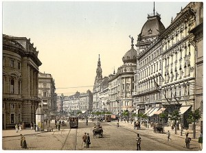 Ring Street, Budapest, Hungary. ca. 1890-1900. Prints and Photographs Division.
