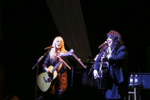 Ann and Nancy Wilson of Heart. Photo by Amanda Reynolds