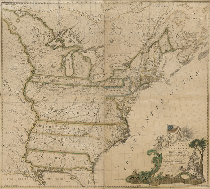 Rare Map On Display At Library Scored Some Firsts Library Of - State of the map us 2014