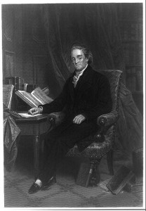 Noah Webster, ca. 1867. Prints and Photographs Division.