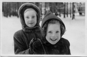 Edith and Yvonne de Muyser, Luxembourg. Alexander Standish Collection, Veterans History Project.