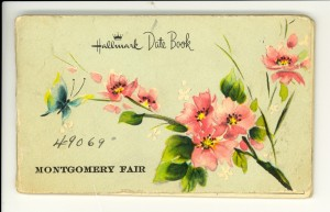 Cover of Parks' date book