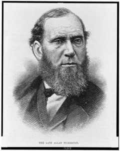 Allan Pinkerton. 1884. Library of Congress Prints and Photographs Division.