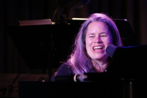 """Singer and songwriter Natalie Merchant performs at the ASCAP Foundation """"We Write the Songs"""" concert in the Coolidge Auditorium, May 12, 2015. Photo by Shawn Miller."""