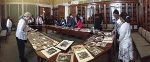 The Manuscript Division presented a display of items from the Rosa Parks Collection following the event.