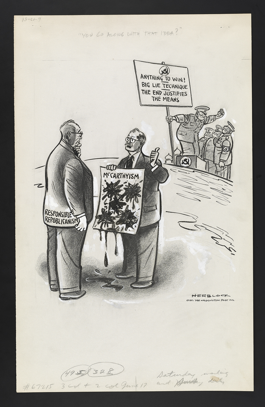 Creating Cartoons Art And Controversy Library Of Congress Blog