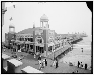 Steel Pier, Atlantic City, N.J. Between 1910 and 1920. Prints and Photographs Division.