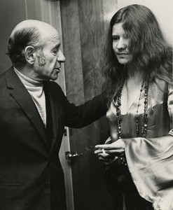 Erich Leinsdorf and Janis Joplin at Tanglewood. Photo by Whitestone Photo, 1969. Music Division.