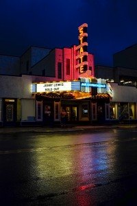The historic State Theatre in Culpeper, where Jerry Lewis performed. Photo by Shawn Miller.