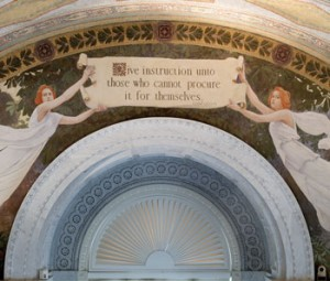 Image of mural in Thomas Jefferson Building