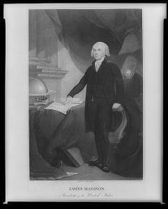 James Madison. Between 1809 and 1817. Prints and Photographs Division.