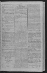 Coverage of the inauguration of George Washington. Gazette of the United-States., May 02, 1789. Chronicling America.