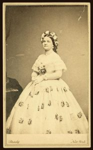 Mary Todd Lincoln. Photo by Matthew Brady, 1861. Prints and Photographs Division.