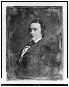 David Rice Aitchison. Photo by Mathew Brady, between 1844-1860. Prints and Photographs Division.