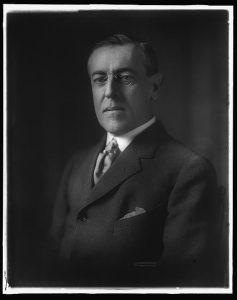 Woodrow Wilson. Between 1900 and 1920. Prints and Photographs Division.