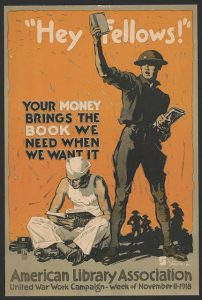 American Library Association, United War Work Campaign, Nov. 11, 1918. Prints and Photographs Division.