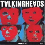 "Talking Heads, ""Remain In Light"" album cover. Courtesy Sire Records"
