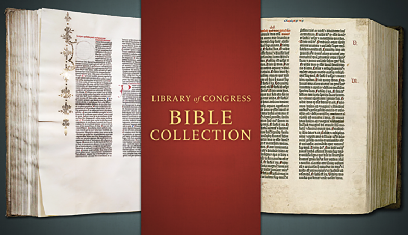 Library of Congress Bible Collections (with illustration)