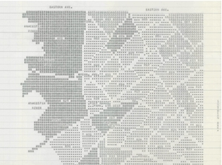 Early Computer Map of the Crime Statistics of Washington,DC Early Computer Cartography Project, Geography and Map Division, Library of Congress
