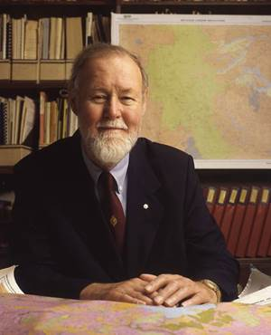 Roger Tomlinson. Archival photo from the Tomlinson Collection,Geography and Map Division, Library of Congress