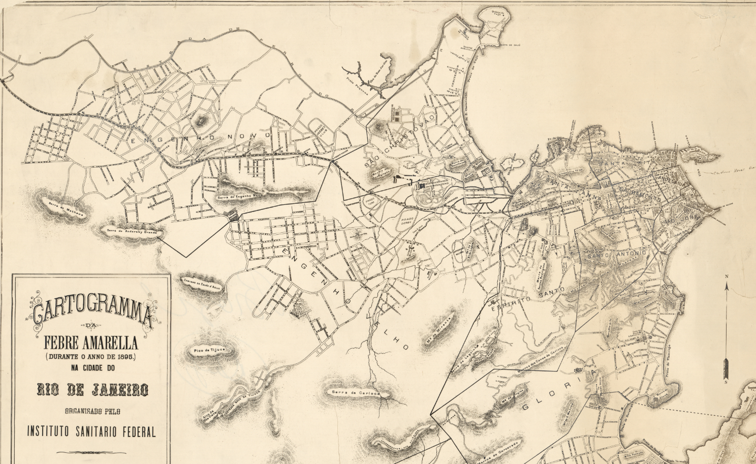 Olympic City: Rio de Janeiro in Historical Maps | Worlds Revealed ...