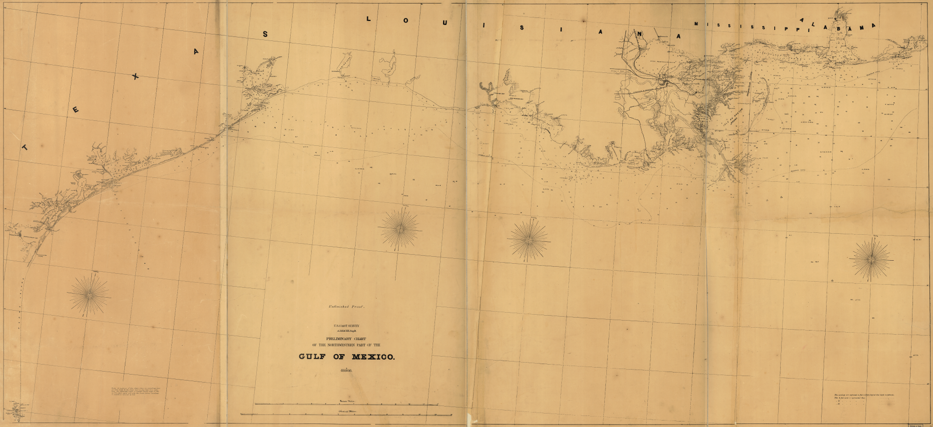 Preliminary Chart, NW Gulf of Mexico