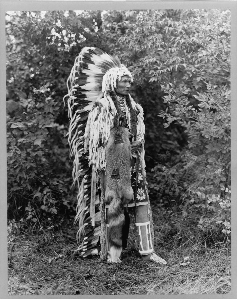 Chief Umapine, Cayuse. Joseph Kossuth Dixon, 1913. Prints and Photographs Division, Library of Congress.