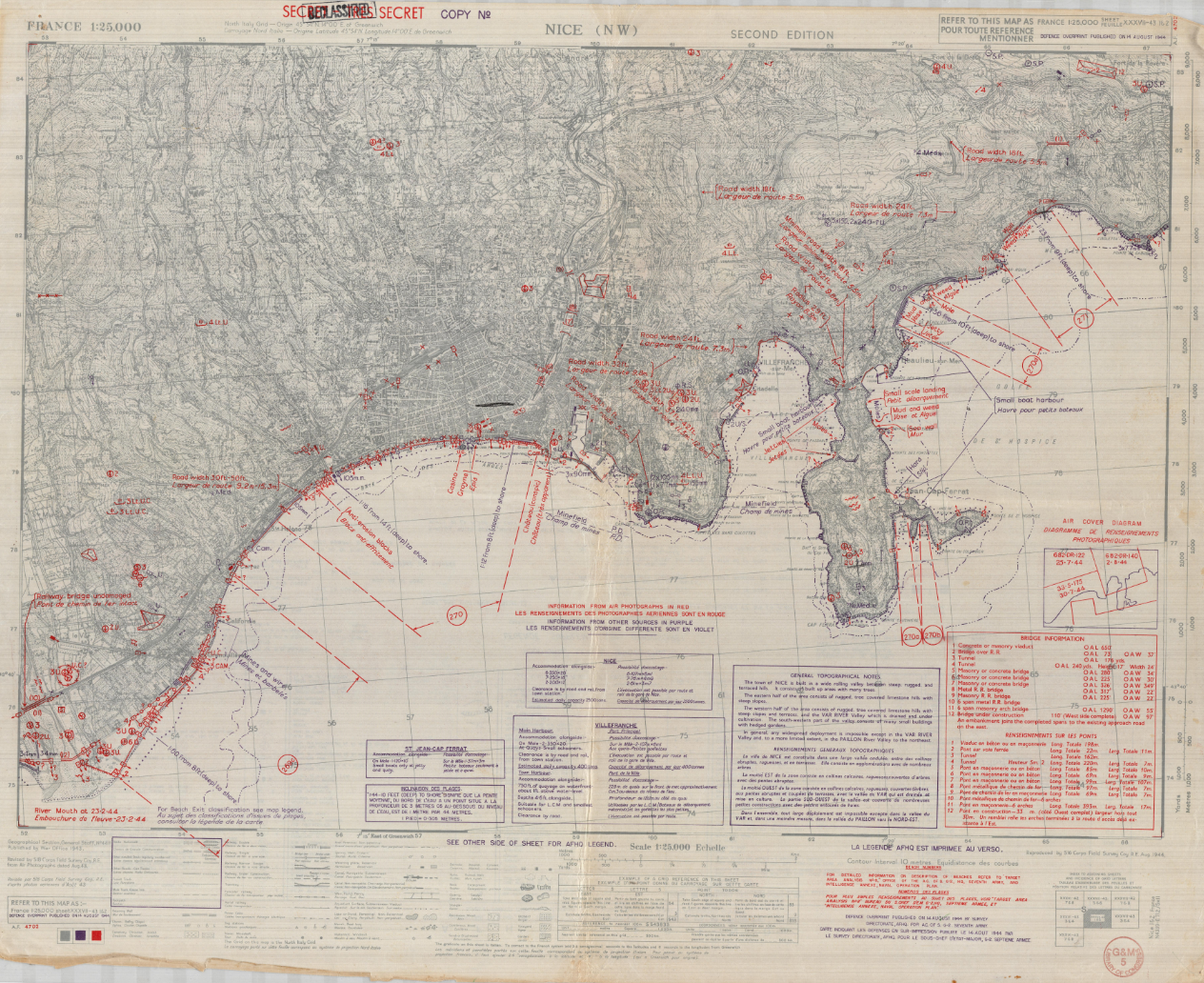 The Secret Maps of World War II Admiral Morton L. Deyo ...