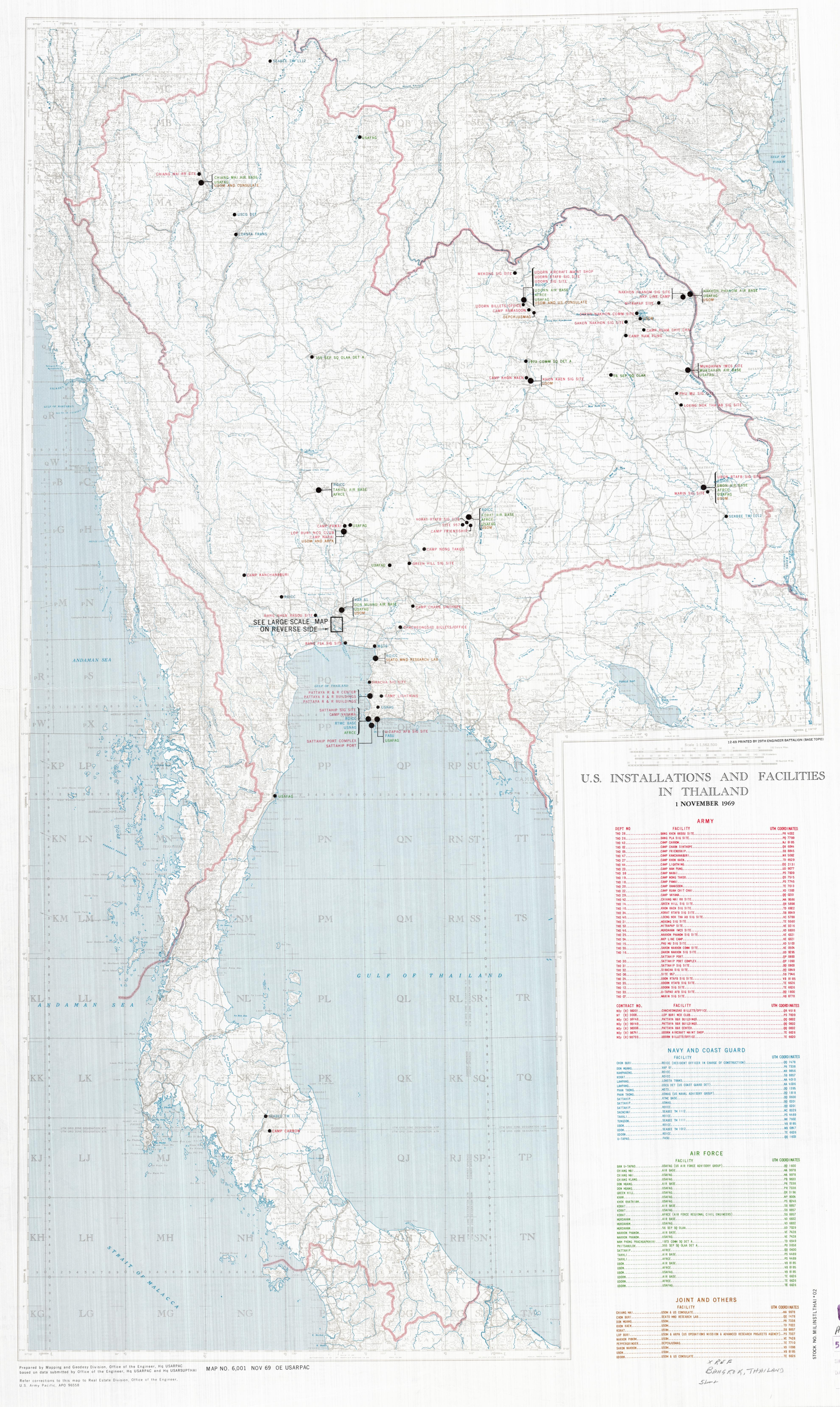 U.S. Bases in Thailand During the Vietnam War and Agent ...