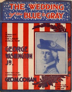 The wedding of the Blue and the Gray, by George M. Cohan. New York, New York, F.A. Mills, 1906