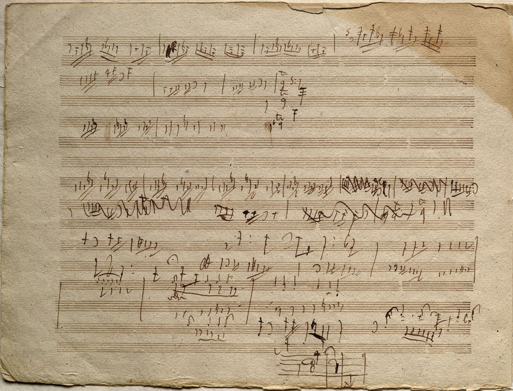 Beethoven Sketches for op 106