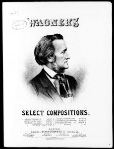 "Wagner, Richard, ""Albumblatt"" (Boston: Ditson, 1876) (Music Division, Library of Congress"