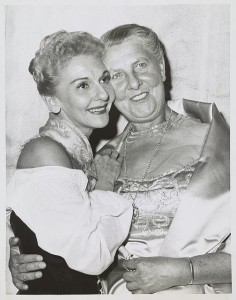 Mary Martin and Baroness von Trapp at a performance of The Sound of Music on Broadway, November 18, 1959 (New York World-Telegram and the Sun Newspaper Photograph Collection, Library of Congress)