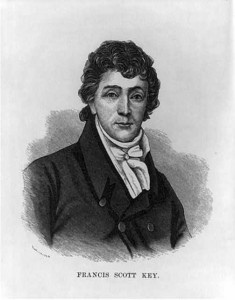 Francis Scott Key, 1780-1843 (Prints and Photographs Division, Library of Congress)