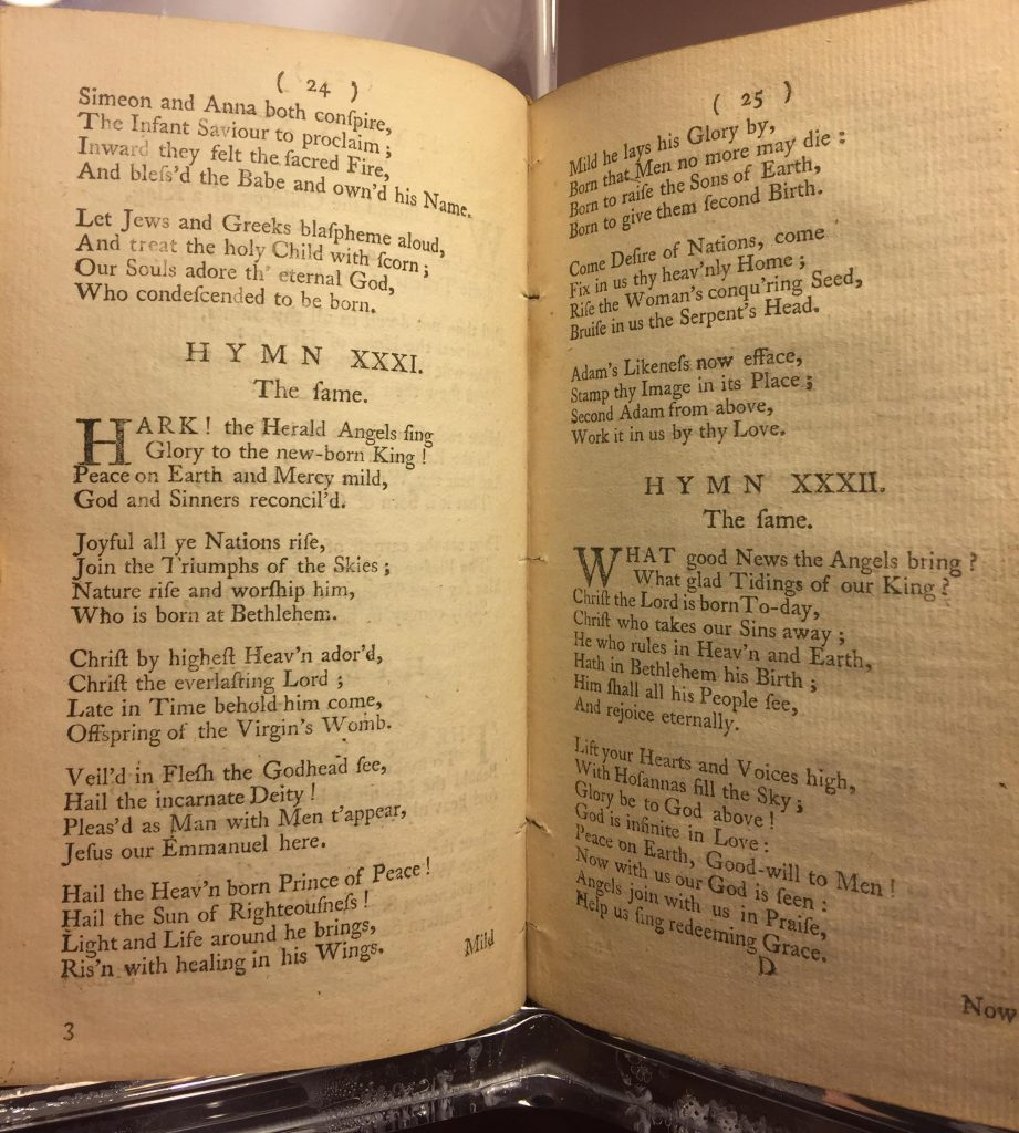 "George Whitefield's ""A Collection of Hymns for Social Worship"" (London, 1753), Rare Book and Special Collections Reading Room, Library of Congress."