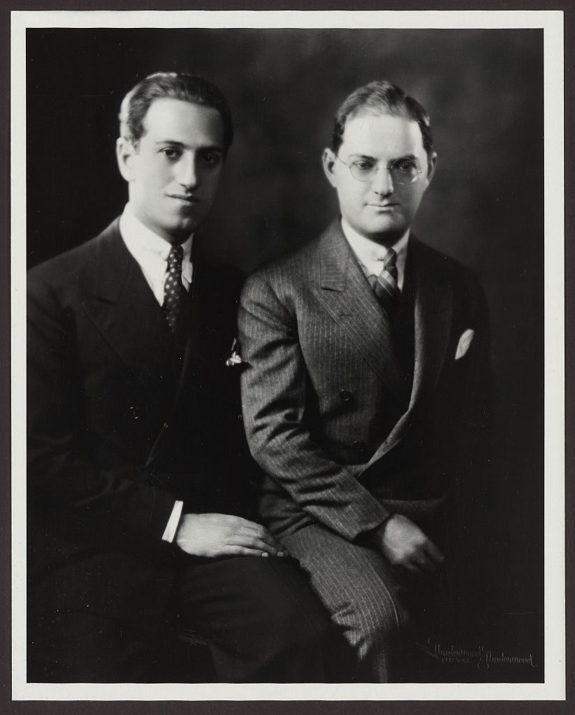 George and Ira Gershwin, ca. 1920s, Prints and Photographs Division, Library of Congress