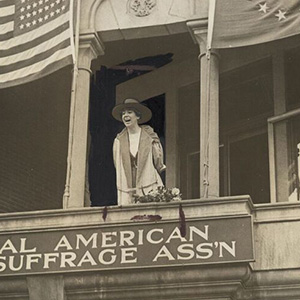 Jeannette Rankin. Photo by C.T. Chapman, Manuscript Division, Library of Congress.