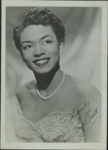 Portrait of Hazel Scott.
