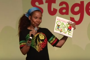 Cedella Marley at the 2011 National Book Festival