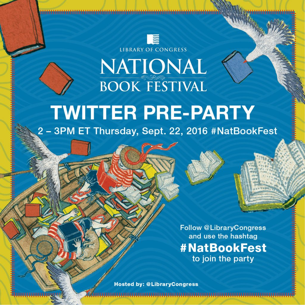 2016 National Book Festival Twitter Pre-Party