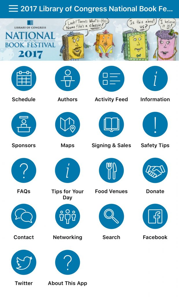 Plan your book festival adventure with the 2017 app for Plan book app